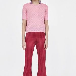 ZARA Sweaters:Pink, Light Blue, Red, US S/EUR S
